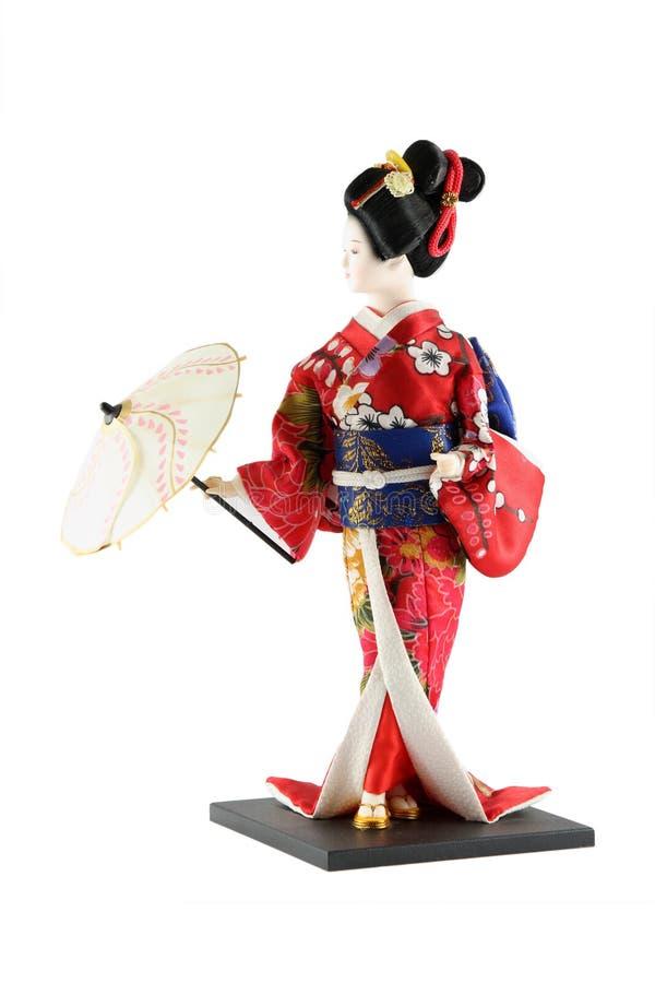 玩偶女性日本 免版税库存图片