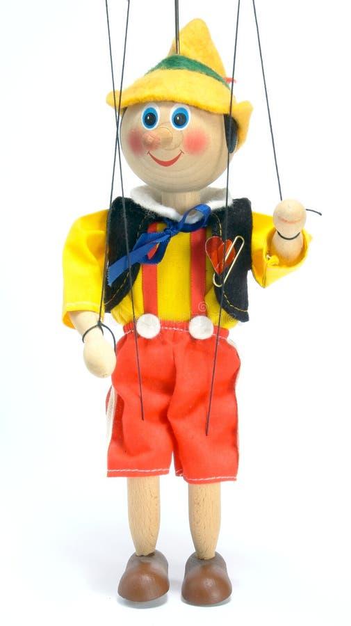 玩偶立场 免版税库存照片