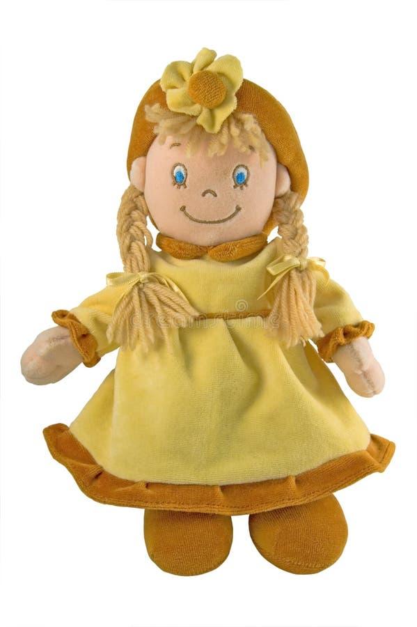 玩偶织品旧布 库存照片