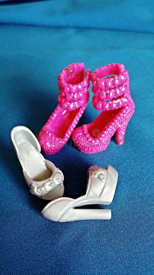 玩偶鞋子 免版税库存图片