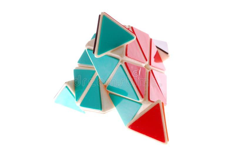 玩具三角 免版税库存图片