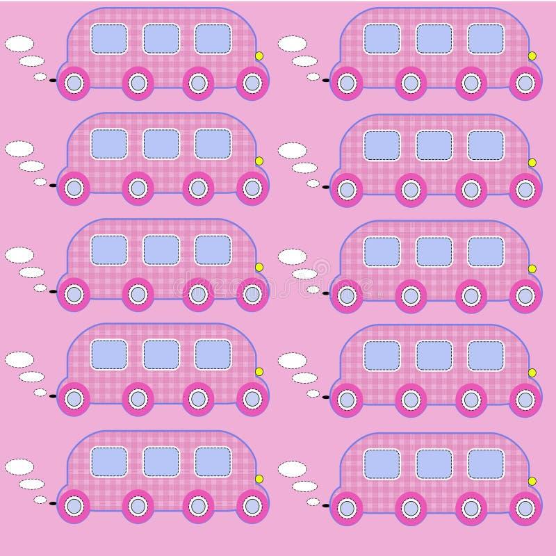 玩具公共汽车3 免版税图库摄影