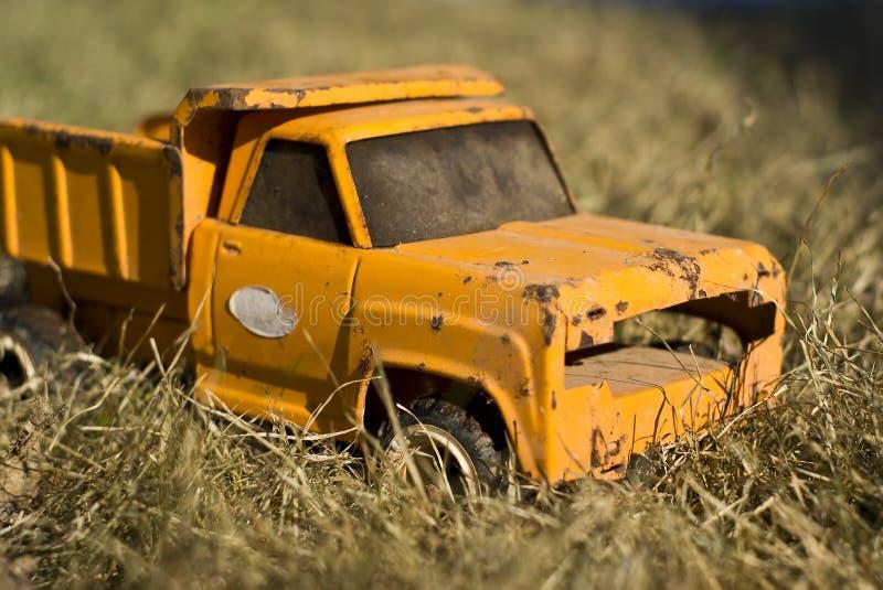 玩具卡车葡萄酒 库存图片