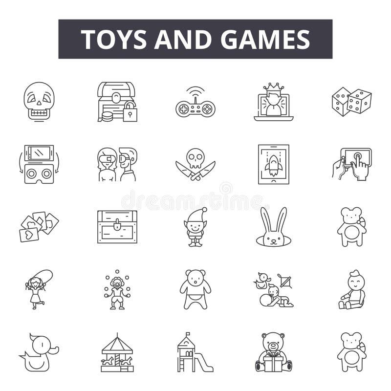 玩具和比赛排行象,标志,传染媒介集合,概述例证概念 皇族释放例证