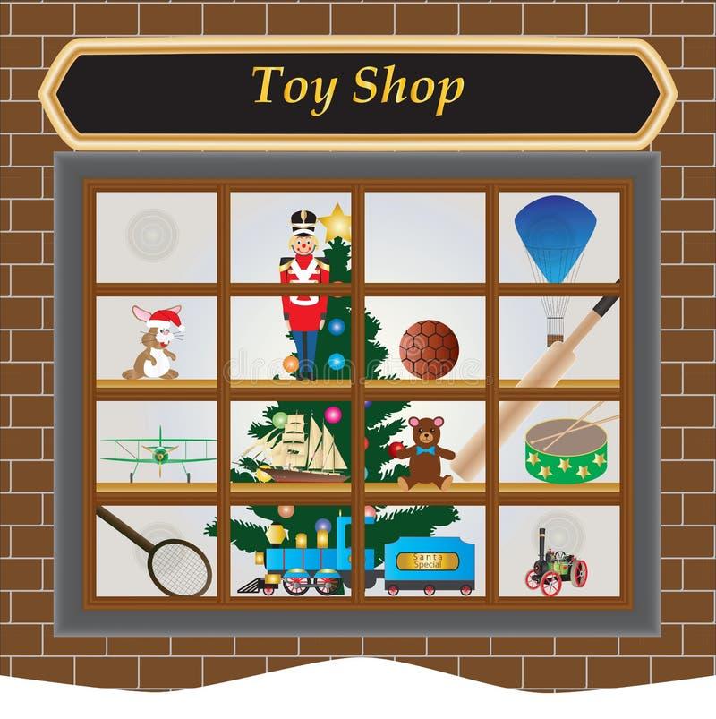 玩具商店 皇族释放例证