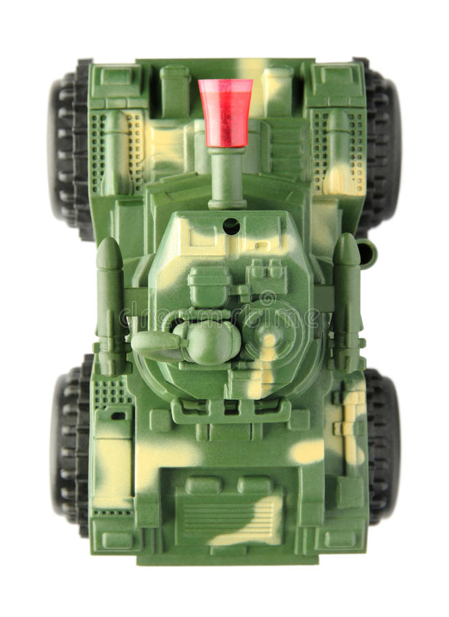 玩具坦克 库存照片