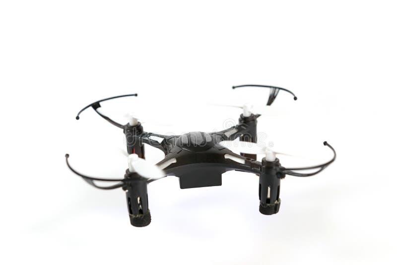 玩具寄生虫quadrocopter 遥控quadcopter寄生虫 免版税库存照片