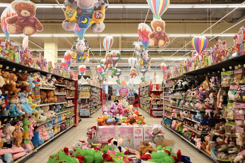 玩具店 库存图片