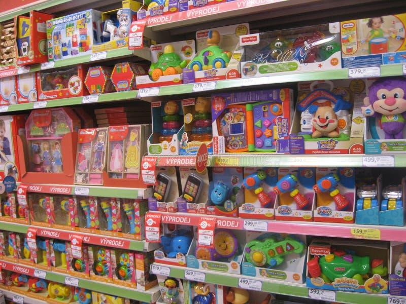 玩具店 免版税图库摄影