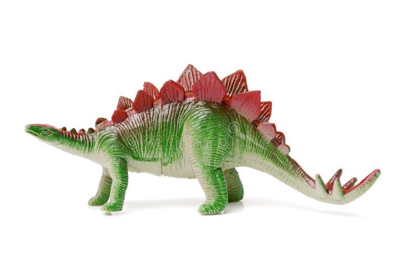玩具恐龙剑龙 库存照片