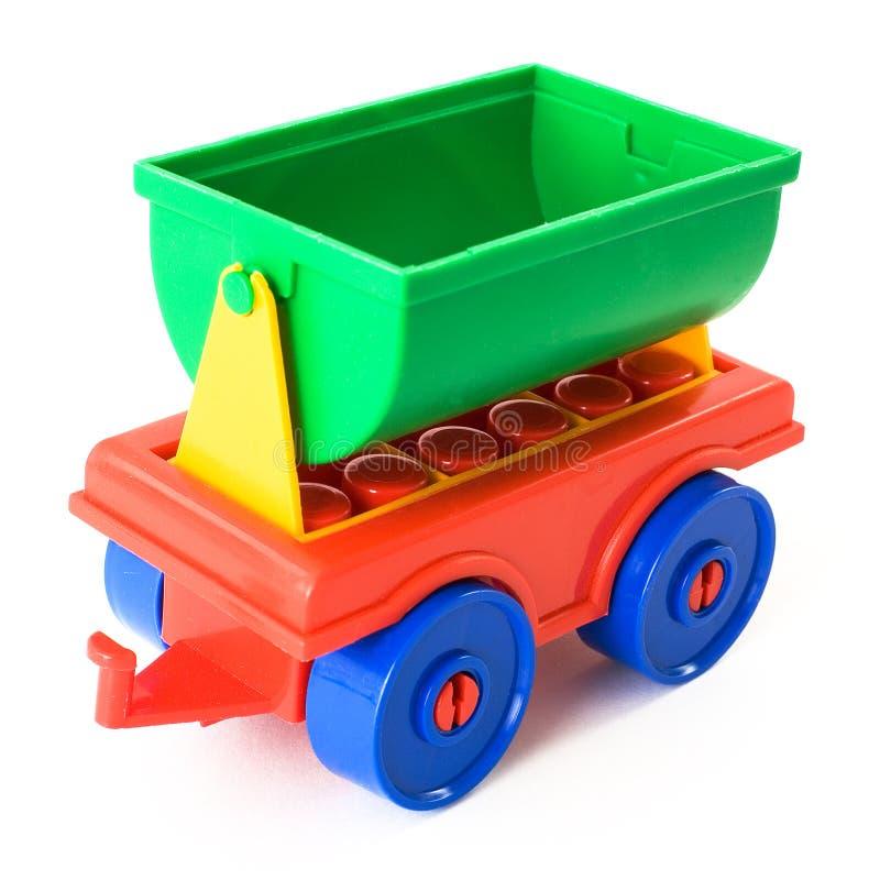 玩具拖车 免版税图库摄影