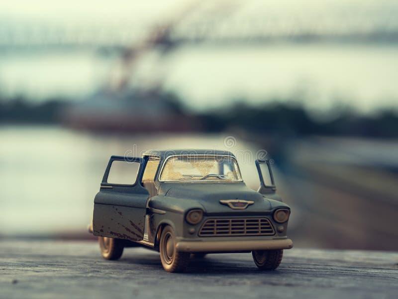 玩具汽车照片 库存图片