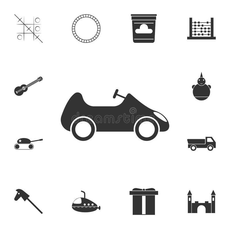 玩具汽车象 详细的套玩具象 优质图形设计 其中一个网站的汇集象,网络设计,流动app 皇族释放例证