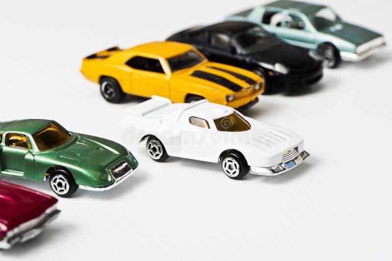 玩具汽车,空白 库存照片