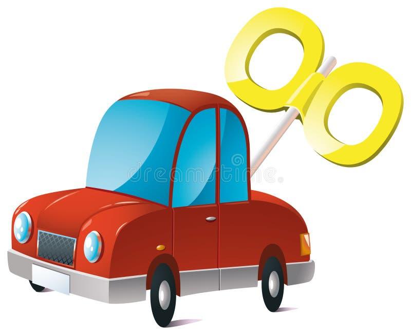 玩具汽车 向量例证