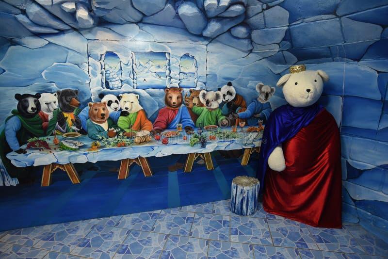 玩具熊博物馆芭达亚 免版税库存照片