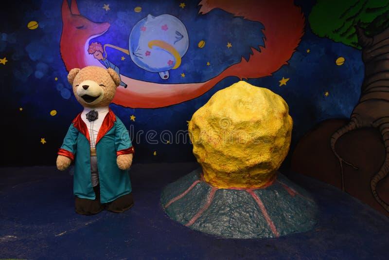 玩具熊博物馆芭达亚 免版税库存图片