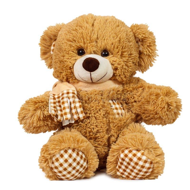 玩具熊微笑 免版税库存照片