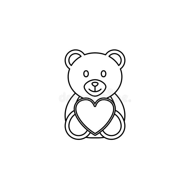 玩具熊心脏线象,软的玩具图片