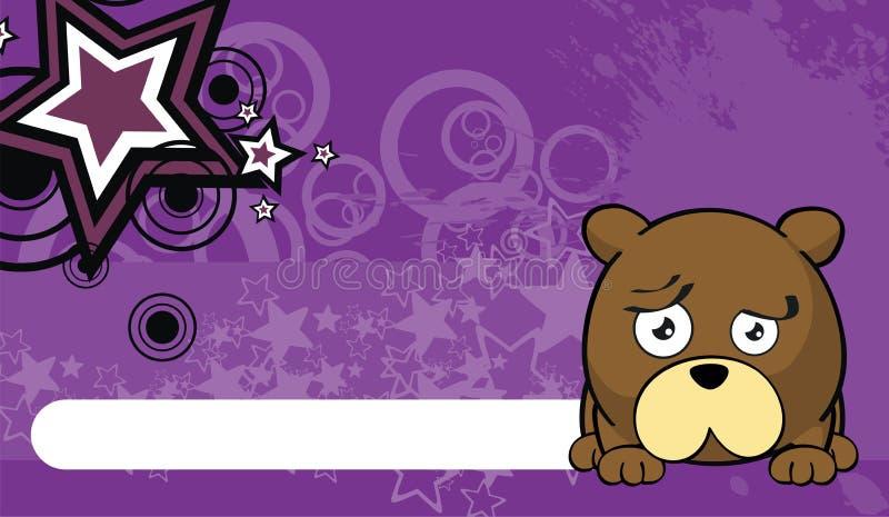 玩具熊球样式动画片background6 皇族释放例证