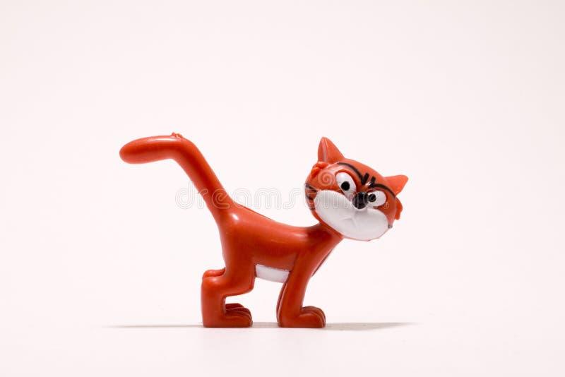 玩具猫 免版税库存图片