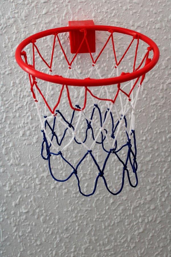 玩具篮球篮子 免版税库存照片