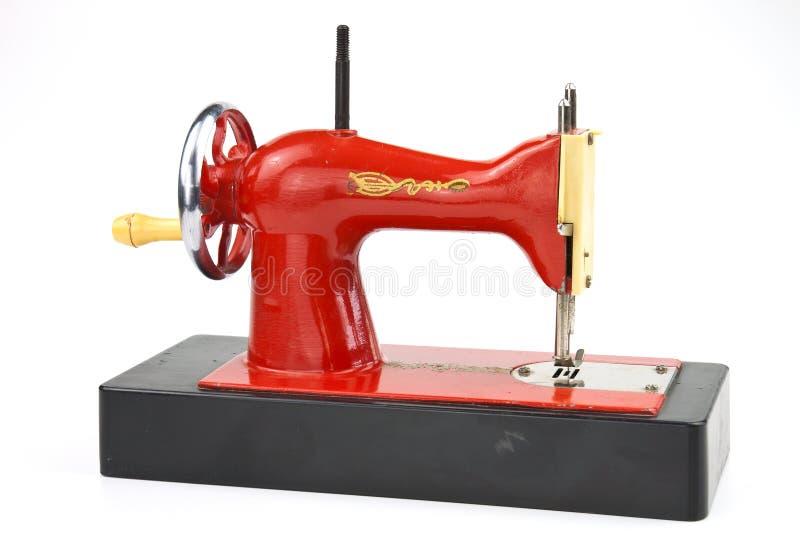 玩具缝纫机 免版税图库摄影