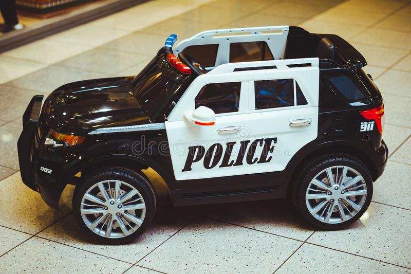 玩具警车 库存图片