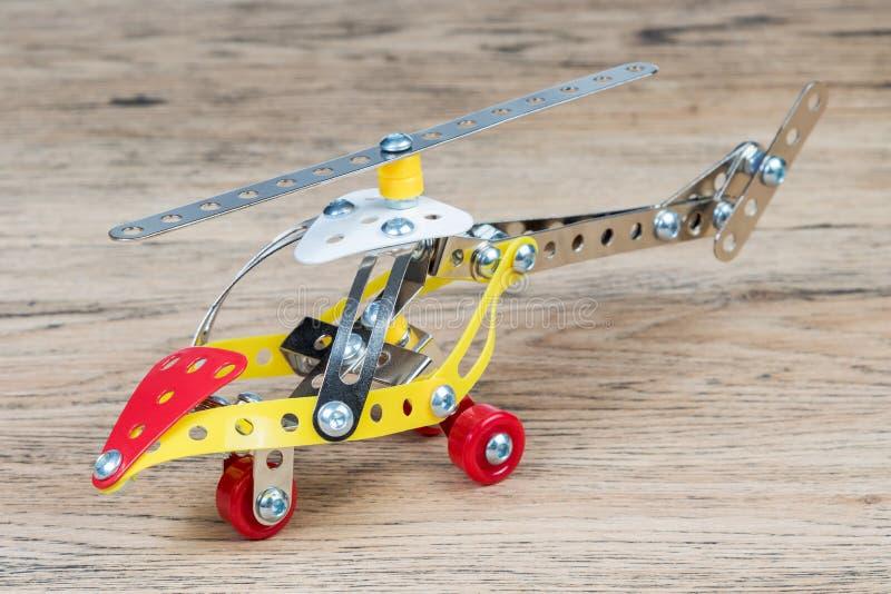 玩具金属直升机 库存照片