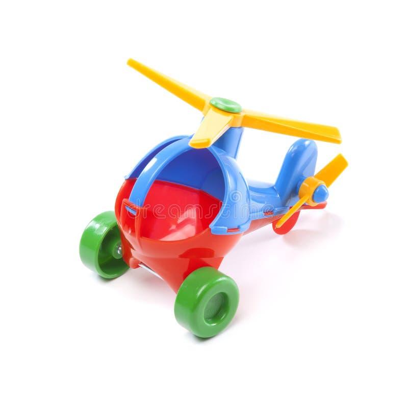 玩具直升机 免版税库存照片