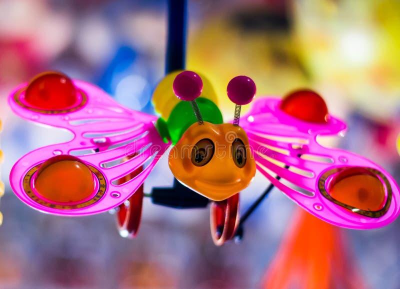 玩具蝴蝶 库存照片