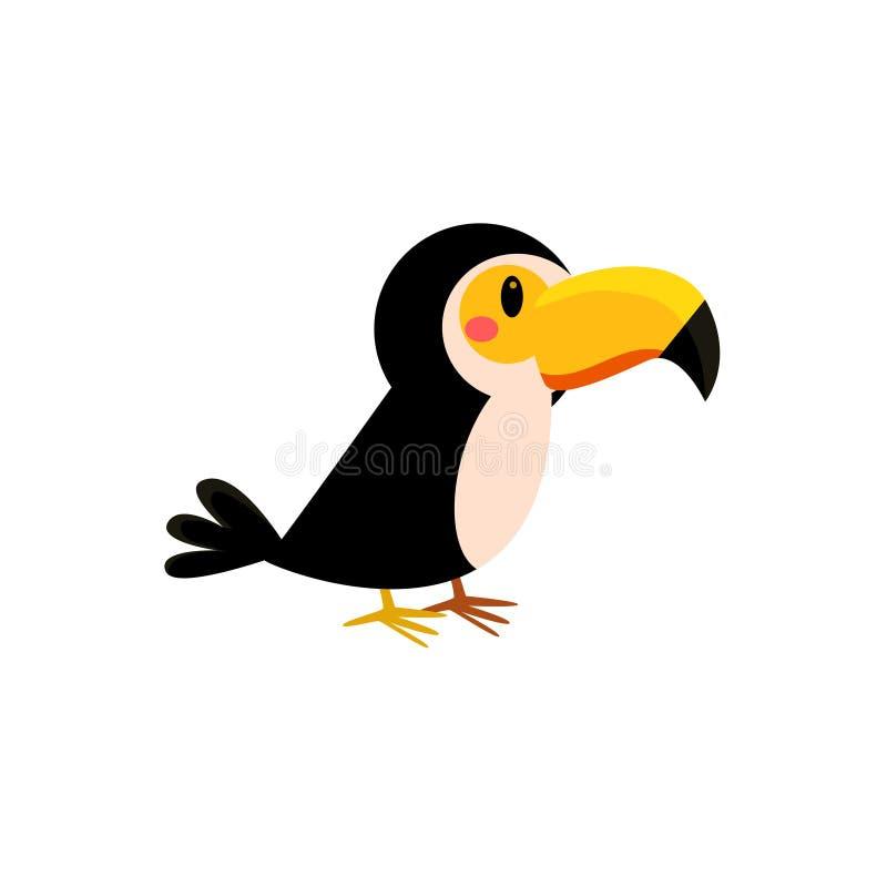 玩具Toucan鸟 皇族释放例证