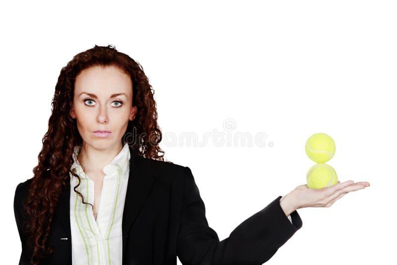 玩杂耍的球 免版税库存图片