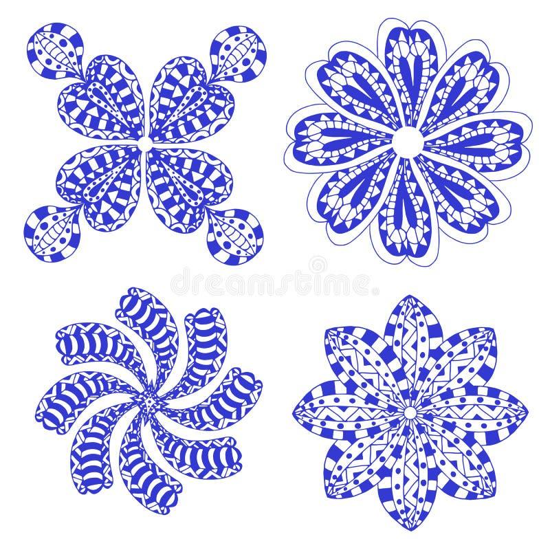 Download 玫瑰华饰装饰品 库存例证. 插画 包括有 方式, 华丽, 墨水, 聚会所, 花卉, 种族, 可耕的, 异乎寻常 - 59102427