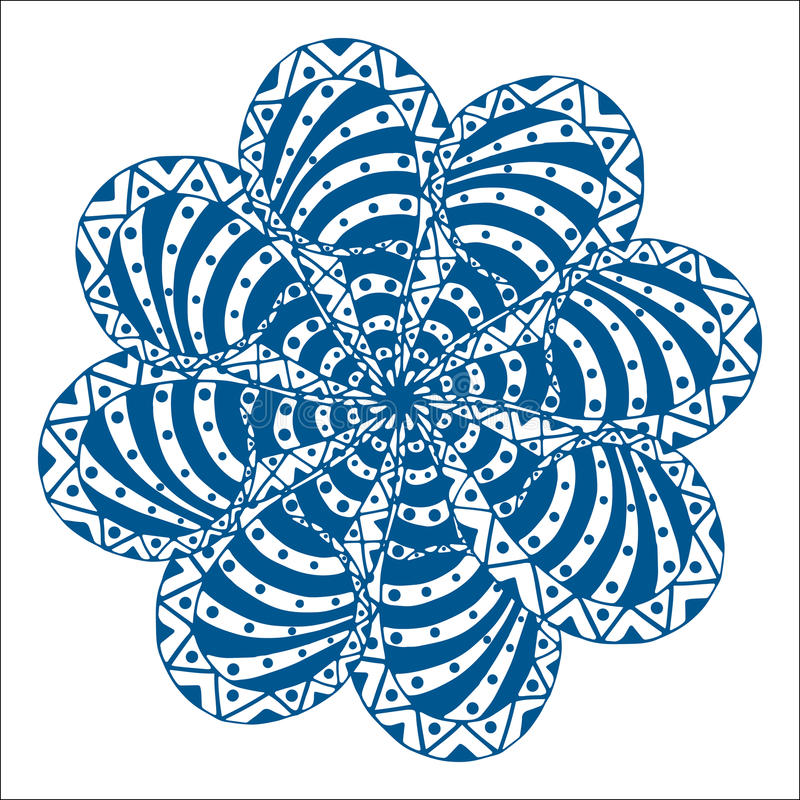 Download 玫瑰华饰装饰品 向量例证. 插画 包括有 幻想, 佩兹利, 种族, 卷曲, 墨水, brusher, 布料 - 59104840