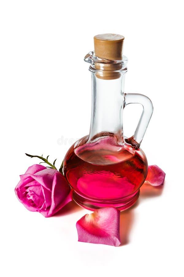 玫瑰油 图库摄影