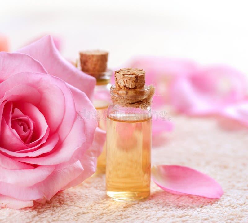 玫瑰色温泉 免版税图库摄影