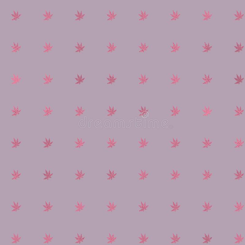 玫瑰色颜色板料 葡萄酒精美桃红色背景 金属样式 淡色数字纸 皇族释放例证