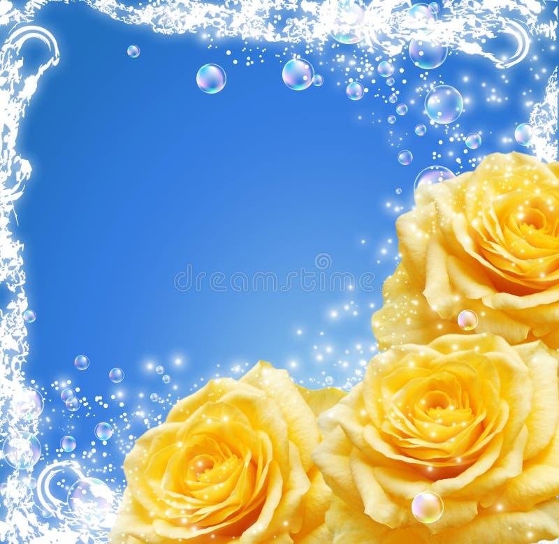 Download 玫瑰 库存例证. 插画 包括有 飞行, 玫瑰, 花卉, 强光, 火光, 照亮, 晴朗, 范围, 起泡的, 背包 - 22351727