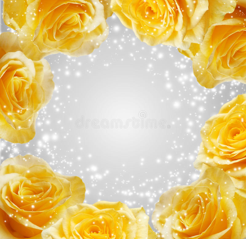 Download 玫瑰 库存例证. 插画 包括有 发光, 背包, 亮光, 绽放, 火光, 玫瑰, 强光, 黄色, beautifuler - 22351730