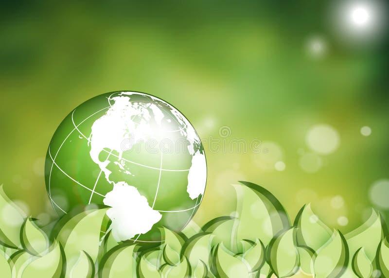 环境传染媒介背景 库存例证