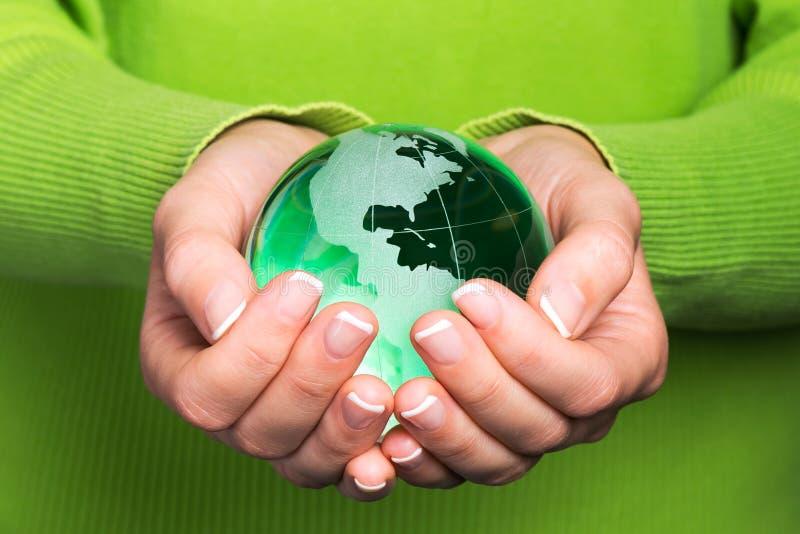 环境保护概念 库存照片