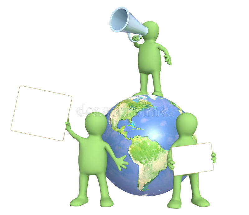 环境保护 向量例证
