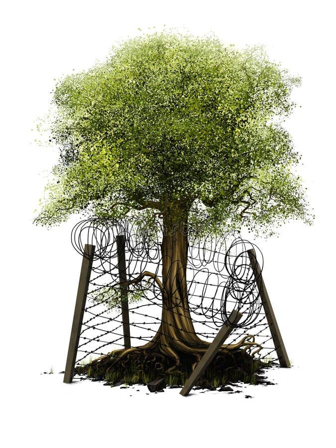 环境保护 库存例证