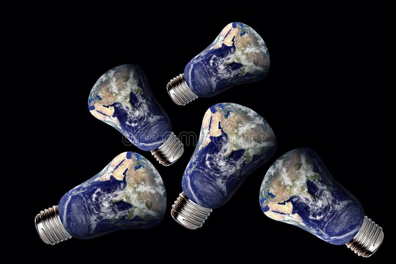 环境回收 向量例证