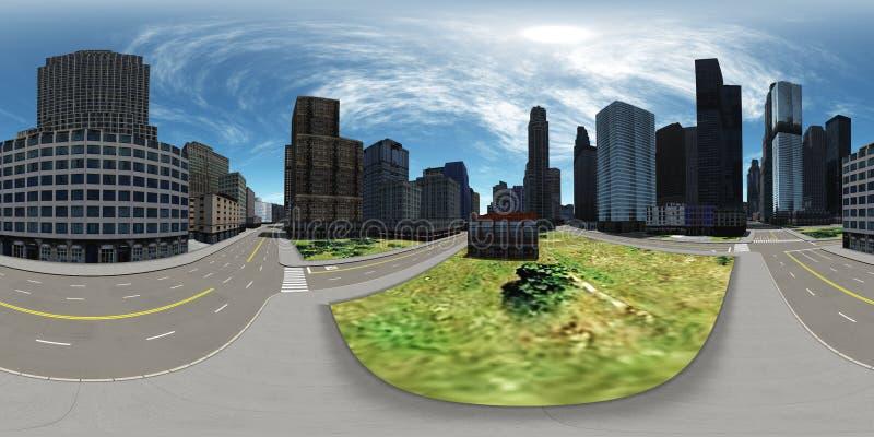 环境地图 HDRI地图 免版税库存照片