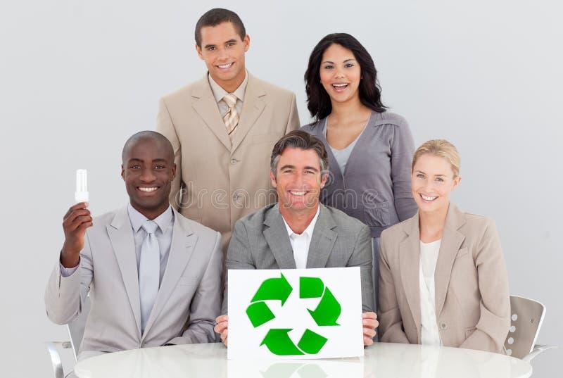 环境好办公室实践 库存图片