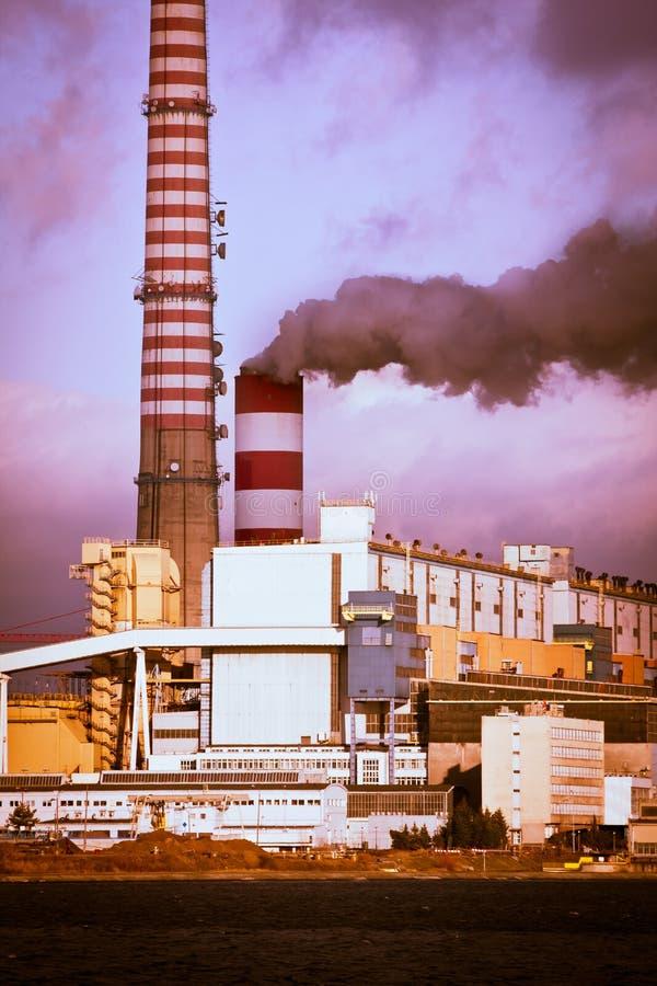 环境污染 免版税库存照片
