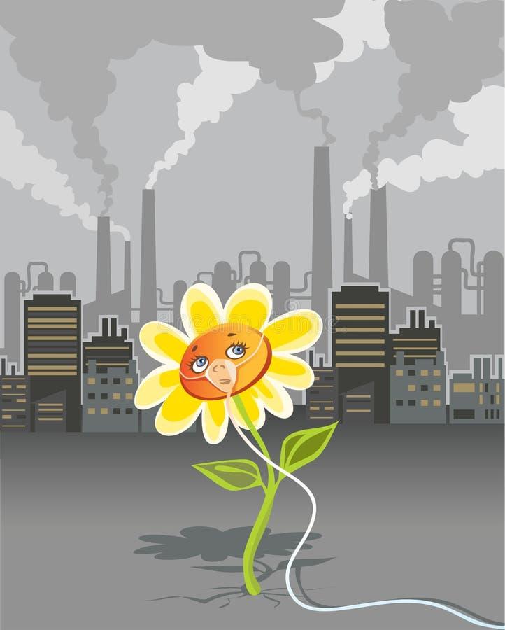 环境污染 向量例证