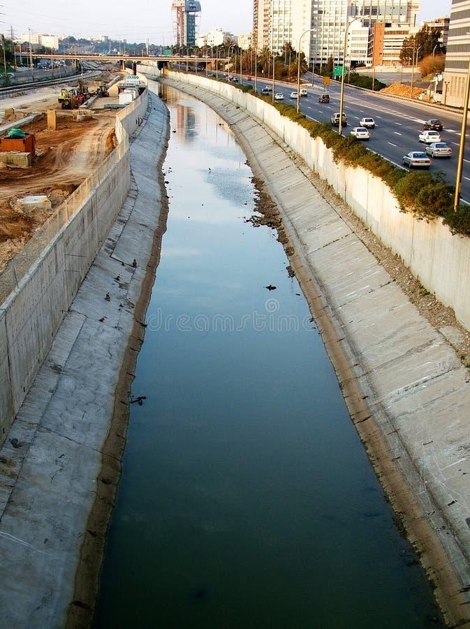环境的污染 库存照片